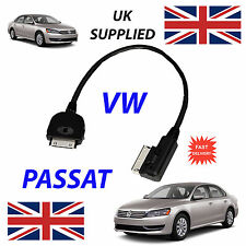 NEW VW PASSAT MDI 000051446J iPhone iPod 4th Gen Audio Cable with Tagging