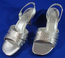 NEW Special Occasions by Saugus Shoe 6250 Silver Size: 7