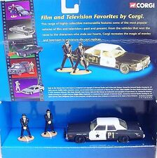 Corgi Toys 1:40 THE BLUES BROTHERS + POLICE CAR Movie Model Car CC06001 MIB`02!