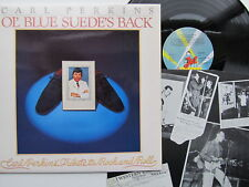 Carl Perkins Ol' Blue Suede's Back Jet Records '78 A1B1