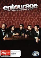 ENTOURAGE -THE COMPLETE SEASON 6 SERIES DVD (NEW & SEALED)