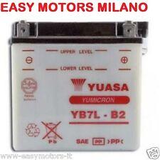 BATTERIA YUASA YB7L-B2 Harley Davidson Z 90-SS SX SXT TX 125/175/250-MBK DOODO