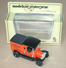 Matchbox Model of Yesteryear MOY Y-12 1912 Ford T 75è anniv. HOOVER N/B (#CLA-5)