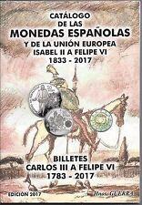 ---OFERTA---  CATÁLOGO del BILLETES Y MONEDAS Hno. GUERRA EDICION 2017