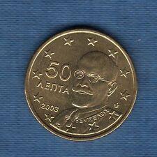 Gréce - 2003 -  50 centimes d'euro - Pièce neuve de rouleau -