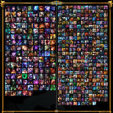 League of Legends Account EUW unranked CHAMPIONSHIP RIVEN all champs 335 Skins