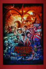 Stranger Things Netflix Supernatural Forces Movie Art Poster 24X36 New Strg