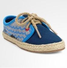 New Cat & Jack Gavin Casual Espadrille Sneakers Blue Toddler Boy Sz 5, 9, 10, 11