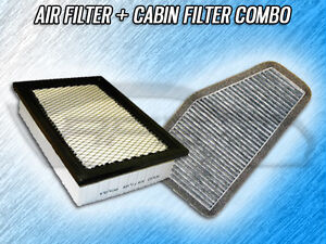 AIR FILTER CABIN FILTER COMBO FOR 2009 2010 2011 MERCURY MARINER 2.5L ONLY