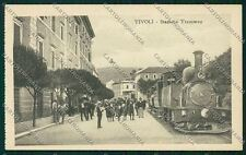 Roma Tivoli Stazione Treno cartolina QK4117