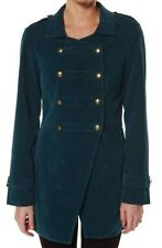 Polyester Regular Size Military Coats & Jackets for Women