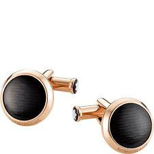 Cufflinks Cuff links Montblanc Meisterstück 112903 warranty gent steel rose gold