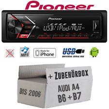 Pioneer Autorradio para Audi A4 B6 B7 MP3 USB Android IPHONE