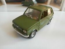 Politoys FIat 126 in Green on 1:25