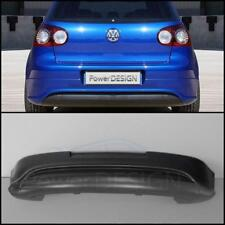 "Rear bumper spoiler for VW GOLF 5 MK5 "" R32 "" WITHOUT EXHAUSTS HOLES ABS Plastic"