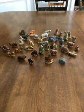 Vintage Lot of 35 Assorted Wade Ceramic Figurines England