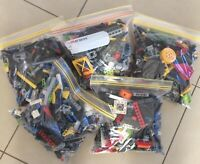 LEGO 0.5KG (x425pc's) BULK LOT TECHNIC PACKS - AFFORDABLE BUILDING FUN!