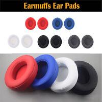 2PCS Leather Earmuffs Ear Pads Para Beats Studio 2.0 3.0 Wired/Wireless Headset