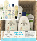 Aveeno Baby Essential Daily Care & Mommy Gift Set Featuring a Variety...