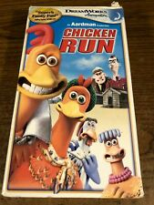 Chicken Run Vhs Vcr Video Tape Movie Used Animated
