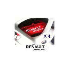 Autocollant Renault Sport frein etriers sticker - couleur rouge