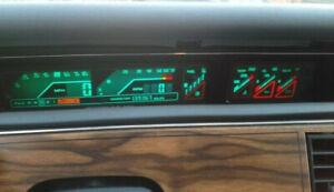 Buick Regal: 1988, 1989, 1990, 1991, 1992 - 1996, DIGITAL - Speedometer Cluster