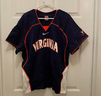 University of Virginia Cavaliers UVA Lacrosse Team Issued Nike Blue Jersey XL