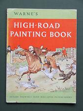 HIGH-ROAD PAINTING BOOK 1965 1ST SOFT COVER – GREENAWAY, LEAR, CALDECOTT, BROOKE