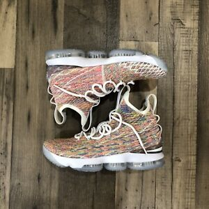 """Nike Lebron 15 """"Cereal"""" Basketball Shoes Size 9.5"""