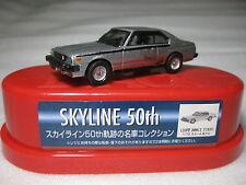 NISSAN SKYLINE C210 2000GT Turbo 1980 Diecast Car 1:72 NIB Rare Lawson Promo