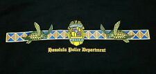 NWOT HONOLULU Police Department HPD Honu Turtle Hawaii T Shirt Mens Large L