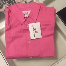 Comme des Garcons H&M Bluse Langarmbluse blouse pink Baumwolle EUR 36 US 6