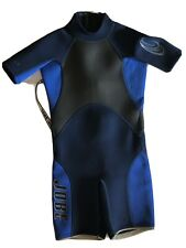 Jobe Blast Powerstretch Youth Size Blue Kids Shorty Wetsuit *See Measurements