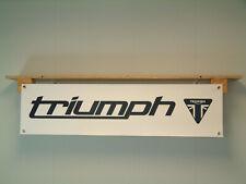 Triumph Motorcycle Banner Show Workshop Garage Display Hinkley