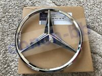 FRONT GRILLE CHROME STAR BADGE for MERCEDES A,C,B,GLA,GLK,CLA,SLK,CLS,E Class