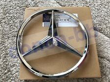 MERCEDES-BENZ A,C,B,GLA,GLK,CLA,SLK,CLS,E Class FRONT GRILLE CHROME STAR BADGE