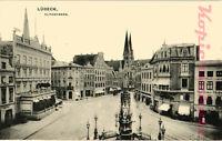 AK Lübeck, Klingenberg, Der Siegesbrunnen, 22,02