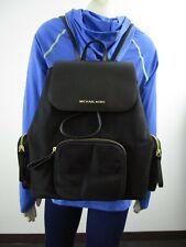 NWT Michael Kors Abbey Large Cargo Canvas PVC Backpack MK Travel Bag $448