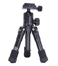 Compact Desktop Mini Tripod Kit+Ball Head for DSLR Camera Canon Nikon .(black)