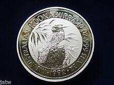 Australia. 1992  10 oz - Silver Kookaburra.   BU in Capsule