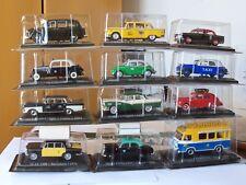 """Automodelli 1-43--"""" TAXI dal MONDO"""" Collezione Completa -60 pz-Nuovi in Blister-"""