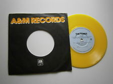 """THE TUBES: TV Is King (A&M) UK Yellow Vinyl 7"""""""