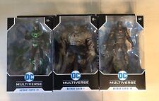 Mcfarlane Toys DC Multiverse Batman Dark Knights Metal Figure Lot NEW COMPLETE