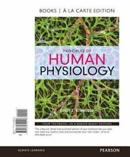Principles of Human Physiology, Books a la Carte Edition w/ MasteringA&P 6th ed.