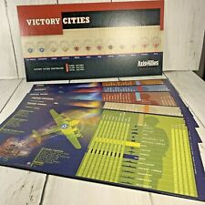 AXIS & ALLIES Board Game Pieces Country Reference Chart Victory Cities 2004