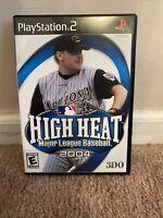 High Heat Major League Baseball 2004 Sony PlayStation 2, 2003 3DO Pre-owned