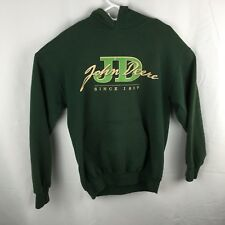 John Deere Vintage Medium Green Long Sleeve Hoodie