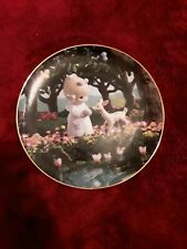 """""""To My Deer Friend� Precious Moments. Classic plate collection by Pam Butcher"""