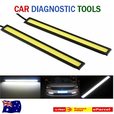 12v White LED COB Car Auto Driving Daytime Running Lamp Fog Light Waterproof.AT