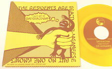 The Residents Satisfaction b/w Loser ≅ Weed Yellow Vinyl 45 & PS